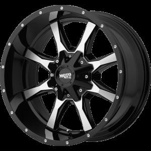 17x8 Moto Metal MO970 Gloss Black Machined