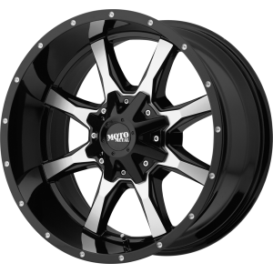 22x10 Moto Metal MO970 Gloss Black Machined