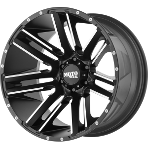 18x10 Moto Metal MO978 Razor Satin Black Machined