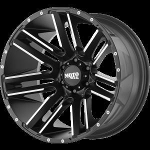 20x10 Moto Metal MO978 Razor Satin Black Machined