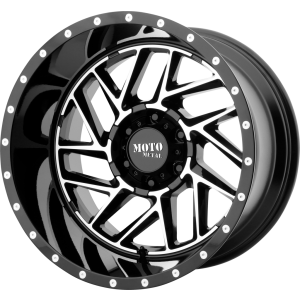 20x9 Moto Metal MO985 Gloss Black Machined