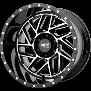 22x10 Moto Metal MO985 Gloss Black Machined