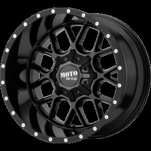22x12 Moto Metal MO986 Gloss Black