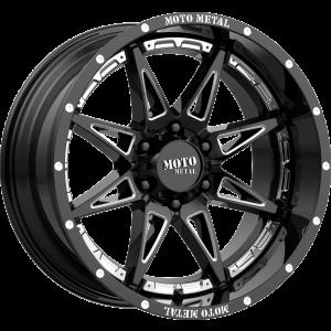 17x9 Moto Metal MO993 Gloss Black Milled