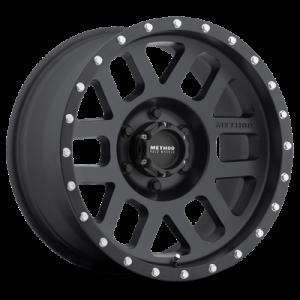 17x8.5 Method Race Wheels 306 Matte Black