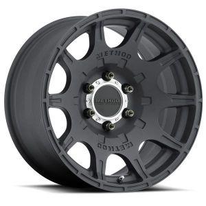 17x8.5 Method Race Wheels 308 Matte Black