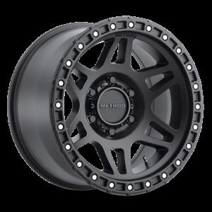 17x8.5 Method Race Wheels 312 Matte Black