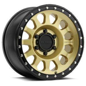 18x9 Method Race Wheels 315 Gold