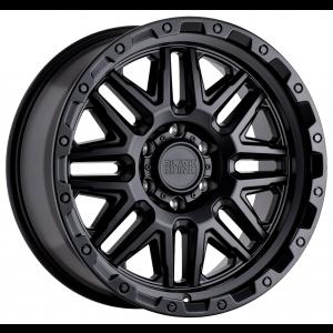 n4sm need 4 speed motorsports 17x9.5 Black Rhino Abrams Gun Black w/ Machined Dark Tint Lip 1