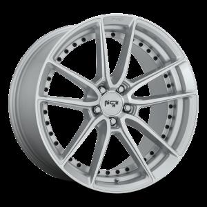 19x9.5 Niche DFS Silver Machined M221