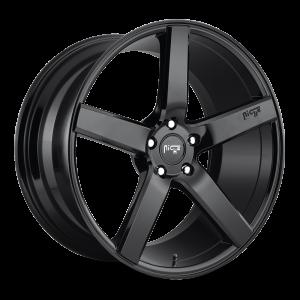 22x10 Niche Milan Gloss Black M188