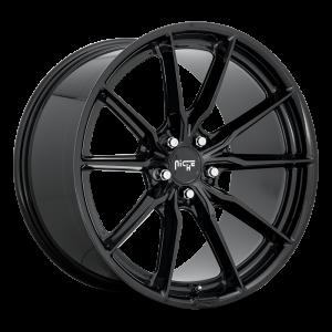 22x10.5 Niche Rainier Gloss Black M240