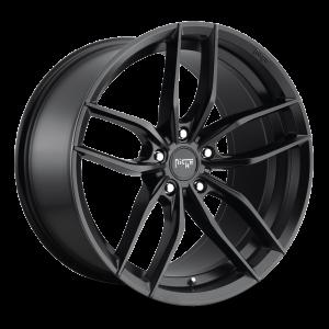 22x10.5 Niche Vosso Satin Black M203