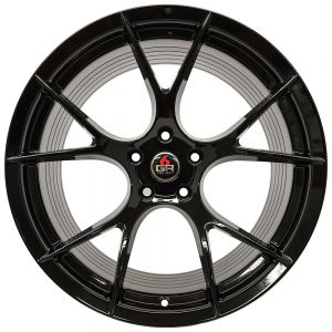 19x11 Project 6GR 10-TEN Gloss Black (Spun Forged)