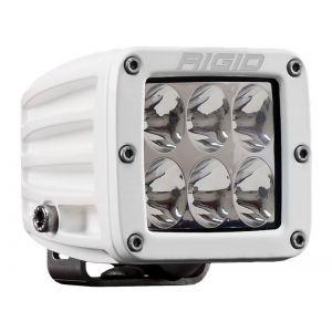 Rigid D-Series Pro White Led Cube Light Driving Beam Single
