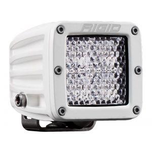 Rigid D-Series Pro White Led Cube Light Driving Diffused Single