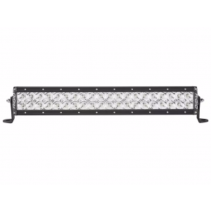 "Rigid E-Series Pro Black 20"" LED Light Bar - Flood Beam"