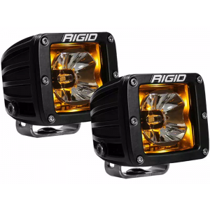 RIGID Radiance Led Light Pod - Amber w/o Wiring Harness