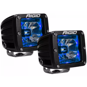 RIGID Radiance Led Light Pod - Blue w/o Wiring Harness