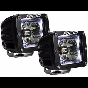 RIGID Radiance Led Light Pod - White w/ Wiring Harness