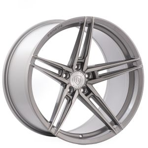 n4sm rohana rfx15 brushed titanium three fourths right angle
