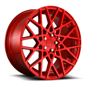 18x8.5 Rotiform BLQ Gloss Red R109