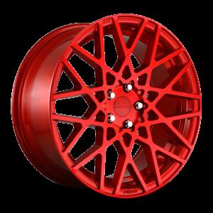 18x8.5 Rotiform BLQ Gloss Red R109
