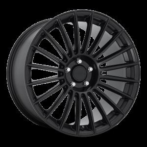 18x8.5 Rotiform BUC Matte Black R154