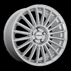 18x8.5 Rotiform BUC Silver R154