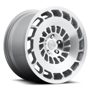 18x8.5 Rotiform CCV Silver Machined R135