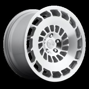 19x8.5 Rotiform CCV Silver Machined R135