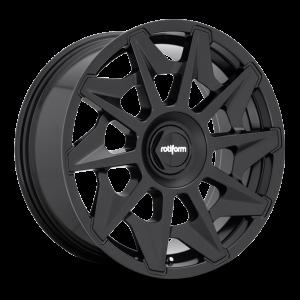 19x8.5 Rotiform CVT Matte Black R129