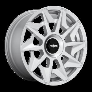 19x8.5 Rotiform CVT Gloss Silver R124