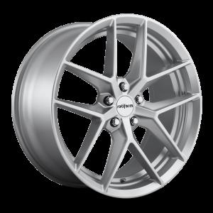 18x8.5 Rotiform FLG Gloss Silver R133