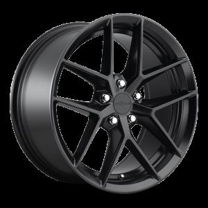18x8.5 Rotiform FLG Matte Black R134