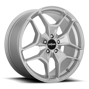 19x8.5 Rotiform HUR Silver Machined R173