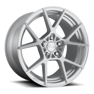 18x8.5 Rotiform KPS Brushed w/ Silver Lip R138