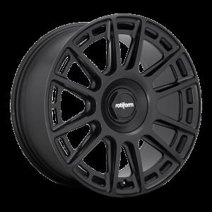 18x8.5 Rotiform OZR Matte Black R159