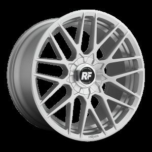 18x8.5 Rotiform RSE Silver R140