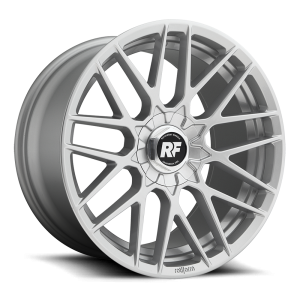 19x8.5 Rotiform RSE Silver R140