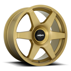 18x8.5 Rotiform SIX Gold R113