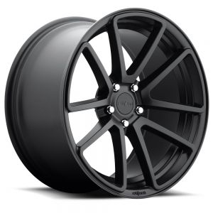 18x8.5 Rotiform SPF All Matte Black R122