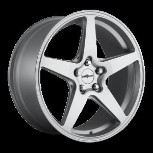 18x8.5 Rotiform WGR Silver R147