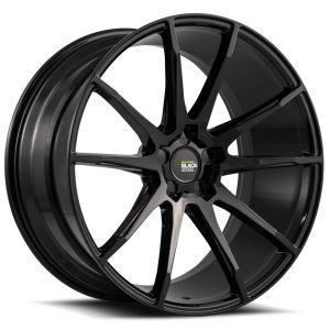 20x10.5 Savini Black Di Forza BM12 Gloss Black (Concave)