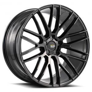 20x8.5 Savini Black Di Forza BM13 All Gloss Black (Concave)