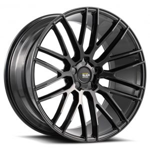 22x10.5 Savini Black Di Forza BM13 All Gloss Black (Concave)