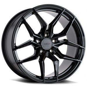 20x10 TSW Silvano Gloss Black