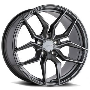 Staggered full Set - (2) 19x8.5 TSW Silvano Gunmetal (2) 19x9.5 TSW Silvano Gunmetal