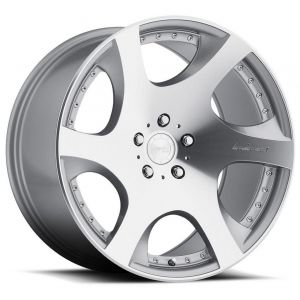 n4sm VP3 mrr wheels gloss silver machined 1