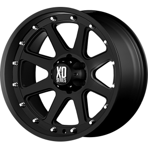 18x9 XD Series XD798 Addict Matte Black